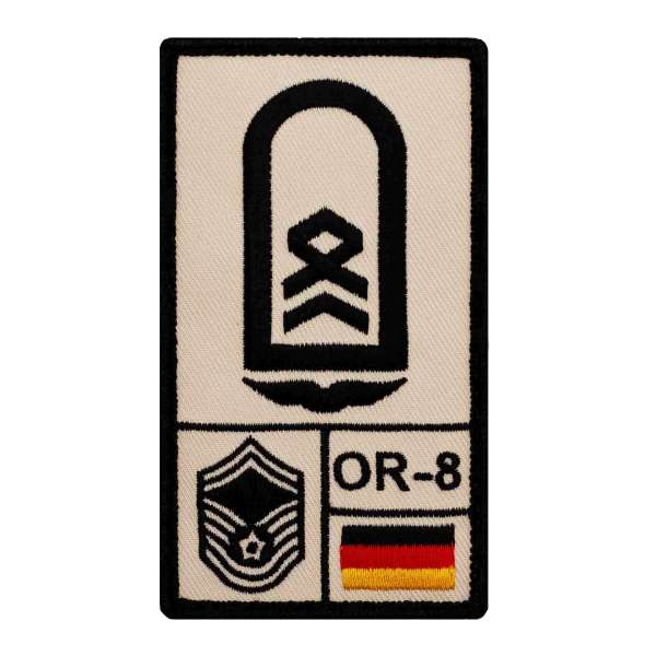 Stabsfeldwebel Luftwaffe Rank Patch