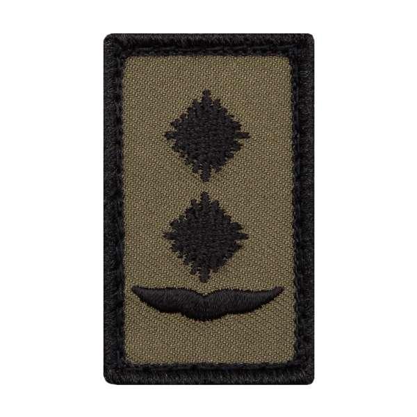 Oberleutnant Luftwaffe Mini Dienstgradabzeichen Patch
