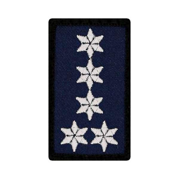 Erster Polizeihauptkommissar Mini Dienstgradabzeichen Patch (EPHK)
