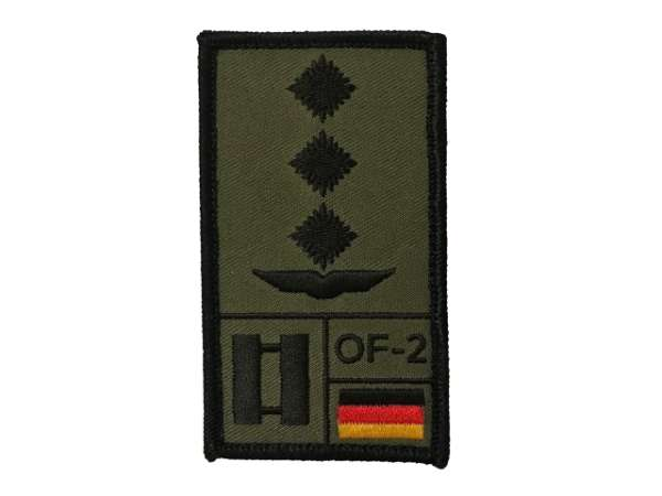 Hauptmann Luftwaffe Rank Patch