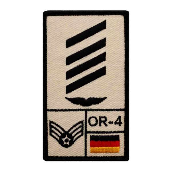 Stabsgefreiter Luftwaffe Rank Patch