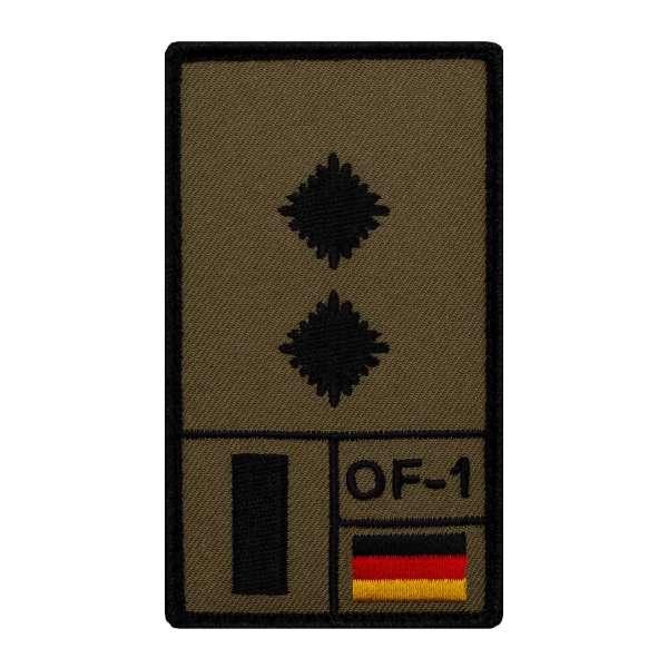 Oberleutnant Rank Patch