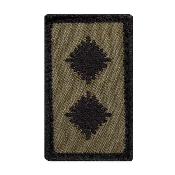 Oberleutnant Heer Mini Dienstgradabzeichen Patch