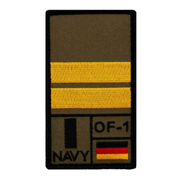 Oberleutnant zur See Rank Patch