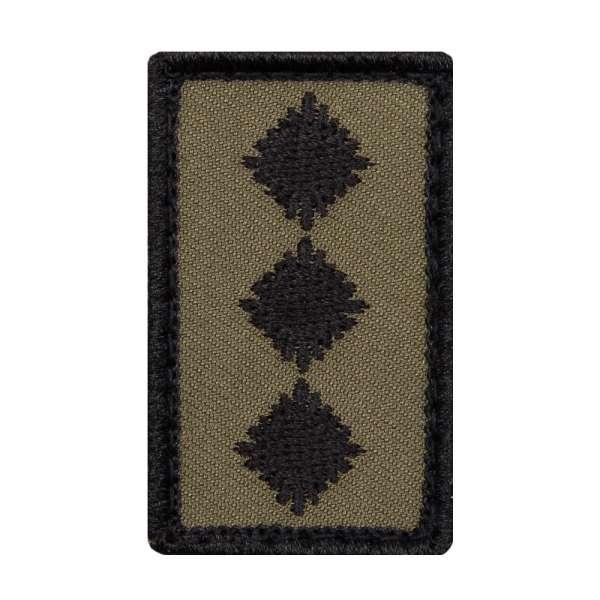 Hauptmann Heer Mini Dienstgradabzeichen Patch