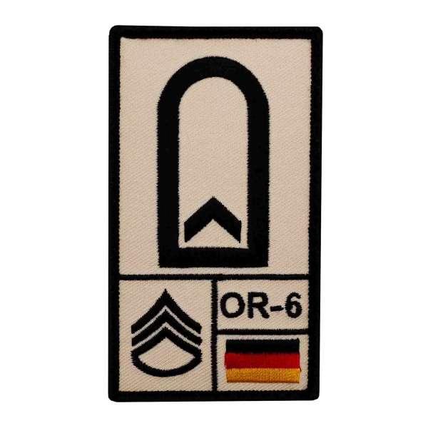 Feldwebel Rank Patch