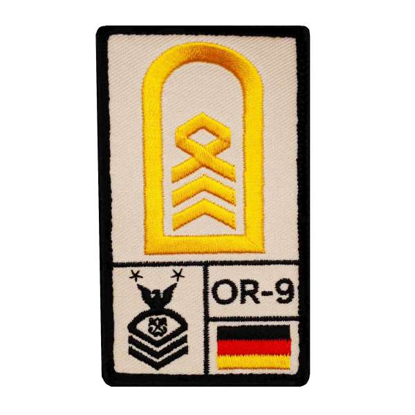 Oberstabsbootsmann Rank Patch