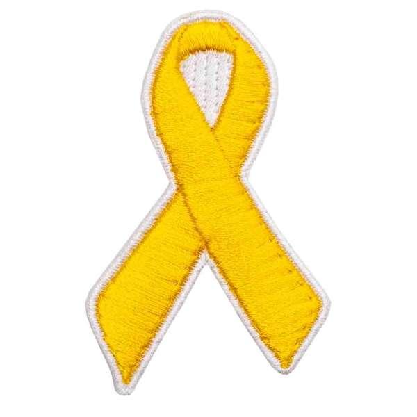 gelbe Schleife Patch