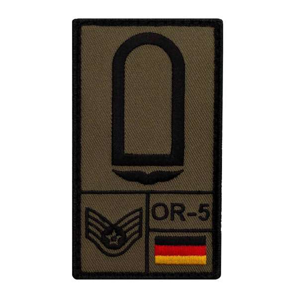 Stabsunteroffizier Luftwaffe Rank Patch