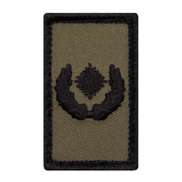 Major Heer Mini Dienstgradabzeichen Patch