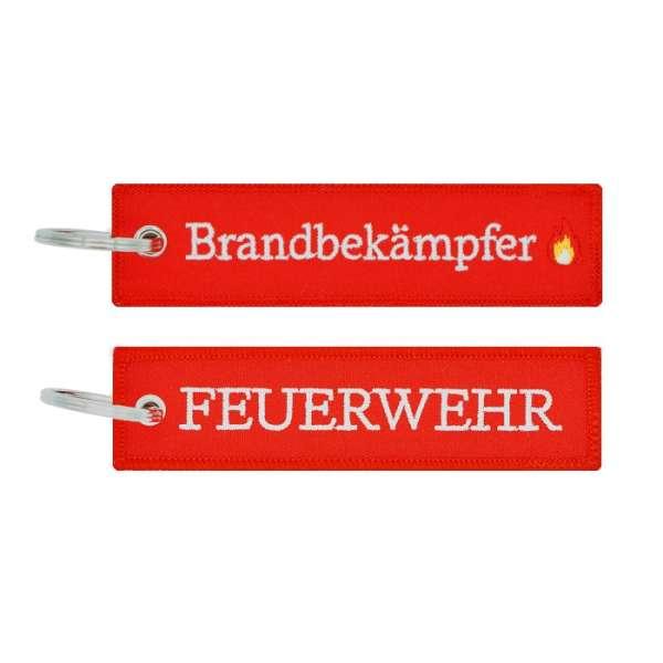 Feuerwehr Brandbekämpfer - Schlüsselanhänger