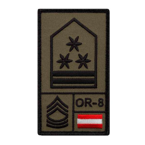 Offizierstellvertreter Bundesheer Rank Patch