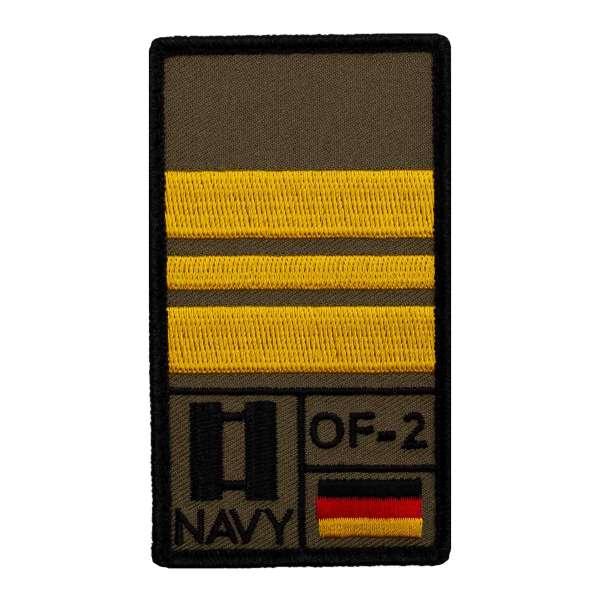 Kapitänleutnant Rank Patch