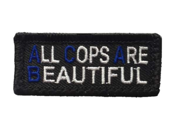 ACAB Polizei Patch