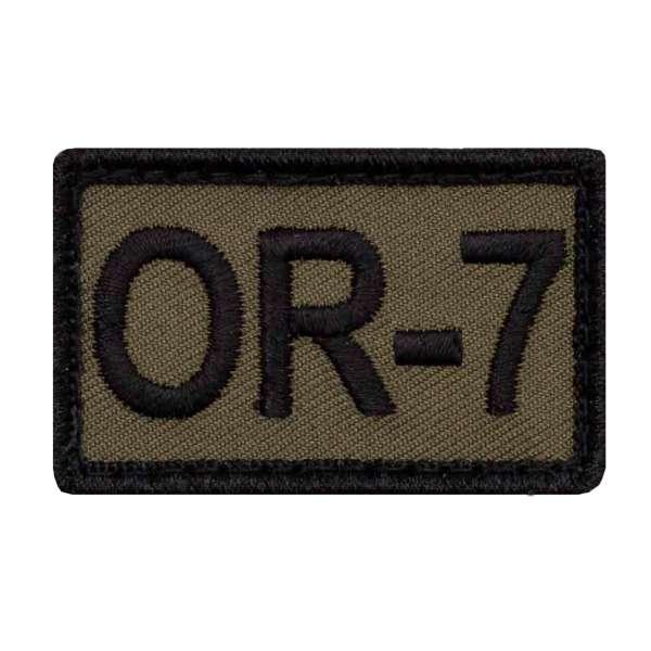 Hauptfeldwebel OR7 Dienstgradabzeichen Patch