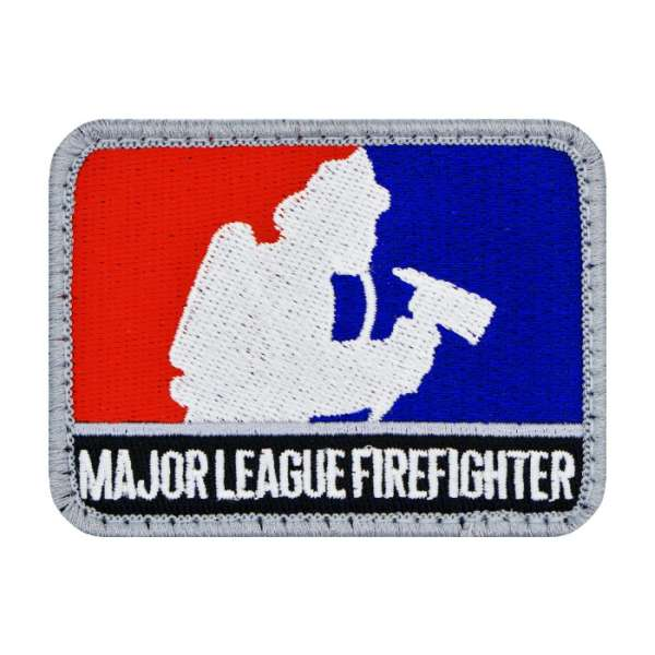 Major League Firefighter Feuerwehr Patch