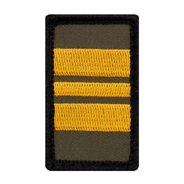 Kapitänleutnant Mini Dienstgradabzeichen Patch