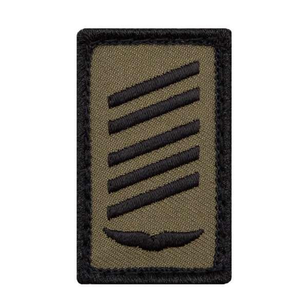 Oberstabsgefreiter Luftwaffe Mini Dienstgradabzeichen Patch