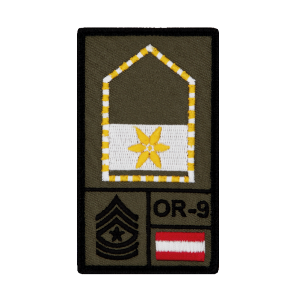 Vizeleutnant Bundesheer Rank Patch