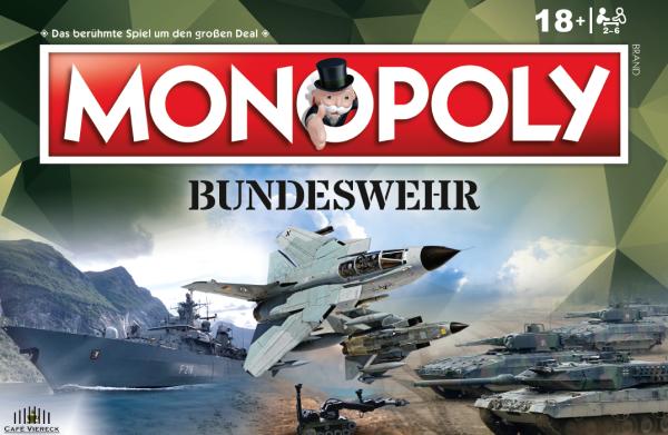 Bundeswehr Monopoly BLIND VORBESTELLUNG