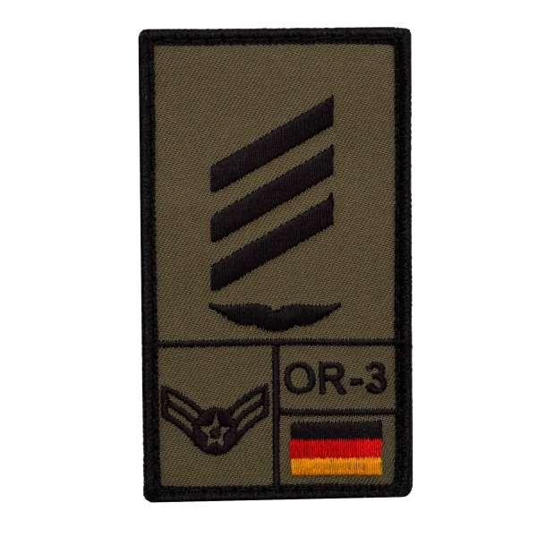 Hauptgefreiter Luftwaffe Rank Patch