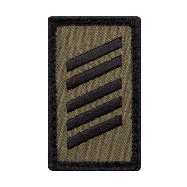 Oberstabsgefreiter Heer Mini Dienstgradabzeichen Patch