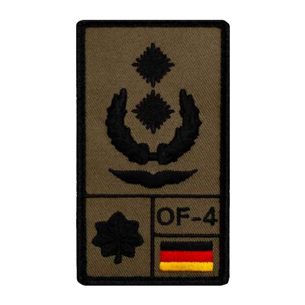 Oberstleutnant Luftwaffe Rank Patch