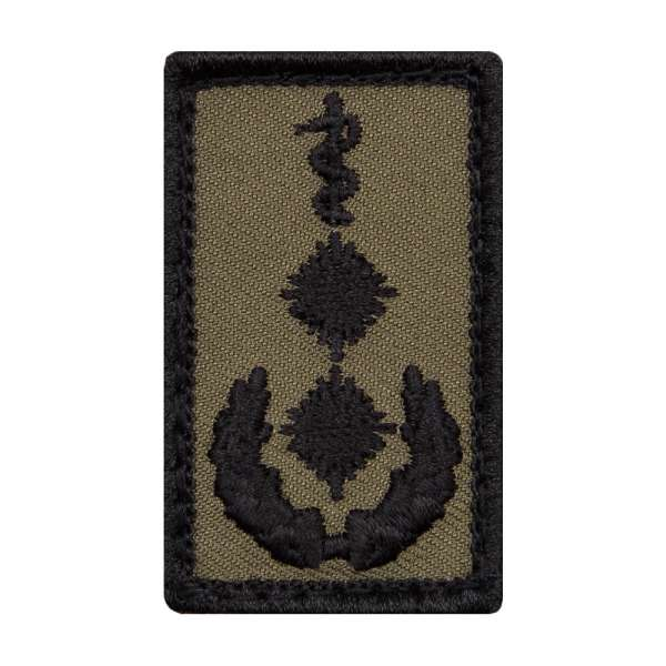Oberfeldarzt Heer Mini Dienstgradabzeichen Patch