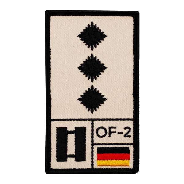 Hauptmann Rank Patch