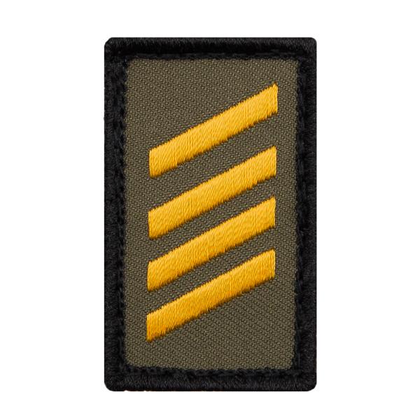 Stabsgefreiter Marine Mini Dienstgradabzeichen Patch