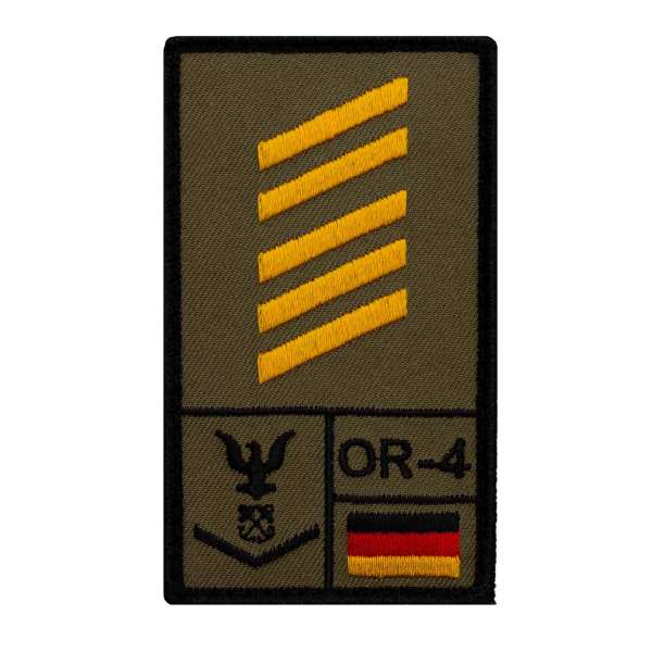 Oberstabsgefreiter Marine Rank Patch