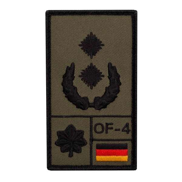 Oberstleutnant Rank Patch