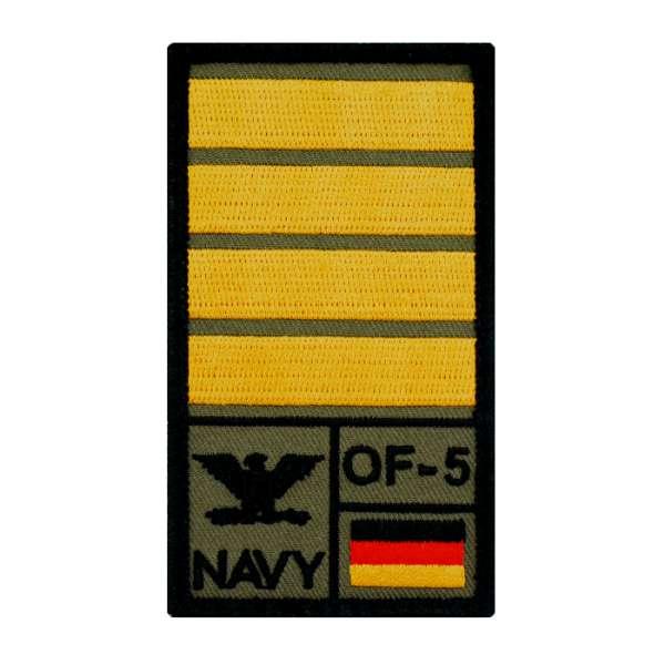 Kapitän zur See Rank Patch