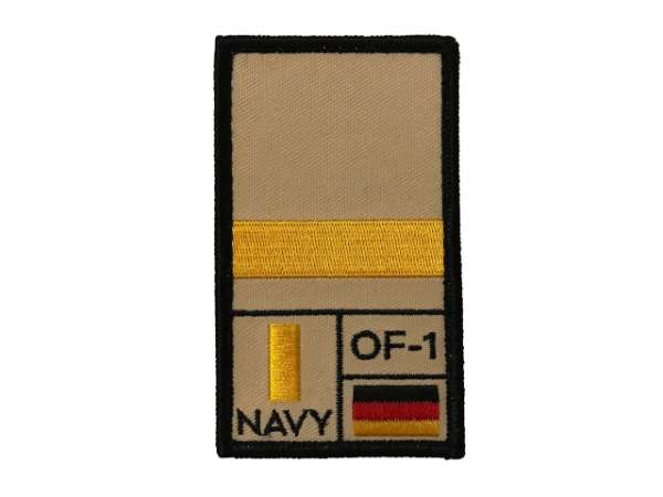 Leutnant zur See Rank Patch