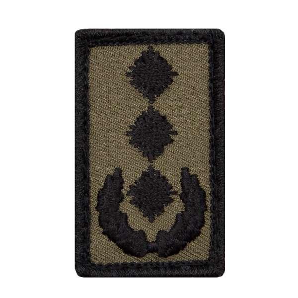 Oberst Heer Mini Dienstgradabzeichen Patch