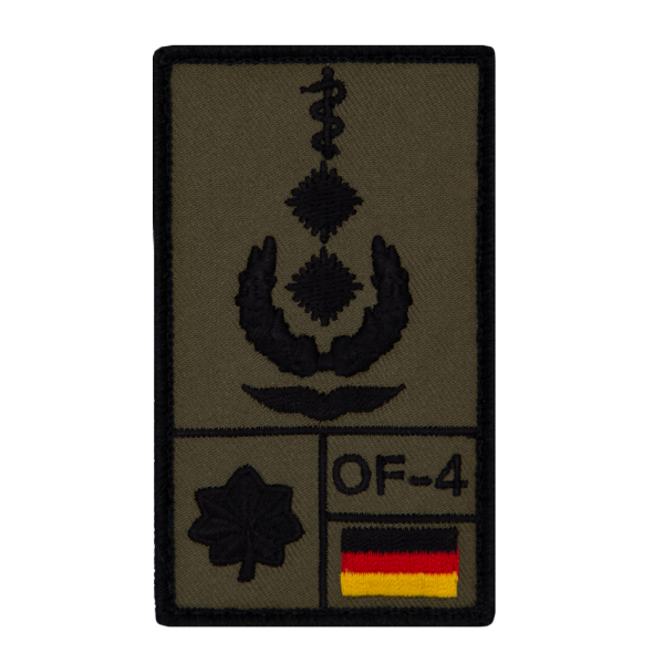 Oberfeldarzt Luftwaffe Rank Patch