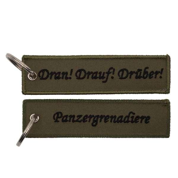 Panzergrenadier dran drauf drüber - Schlüsselanhänger