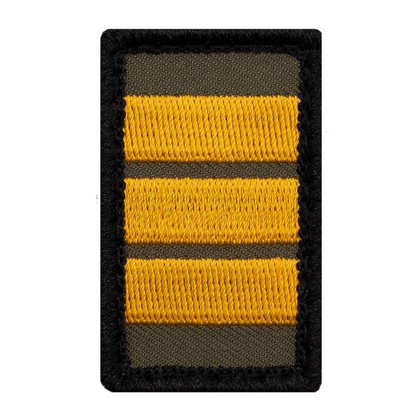 Korvettenkapitän Mini Dienstgradabzeichen Patch