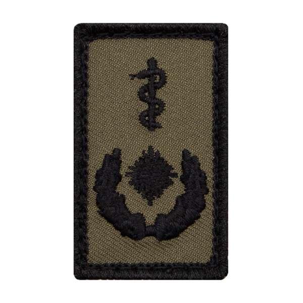 Oberstabsarzt Heer Mini Dienstgradabzeichen Patch