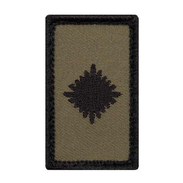 Leutnant Heer Mini Dienstgradabzeichen Patch