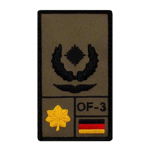 Major Luftwaffe Rank Patch