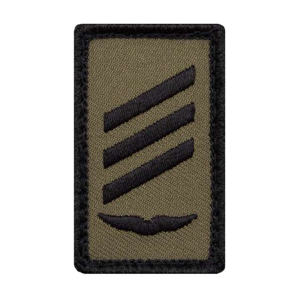 Hauptgefreiter Luftwaffe Mini Dienstgradabzeichen Patch