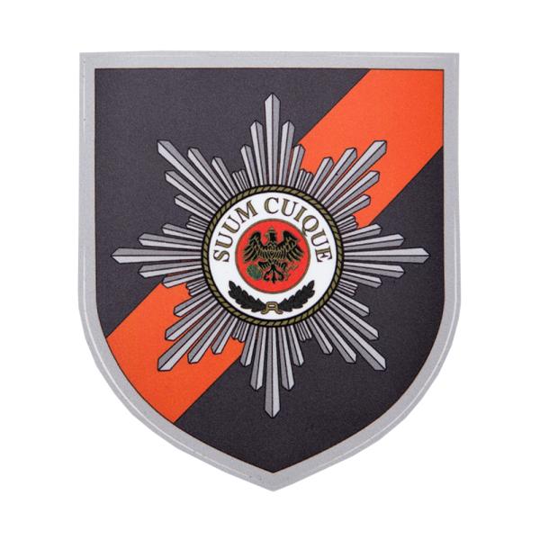 Feldjäger Wappen Aufkleber