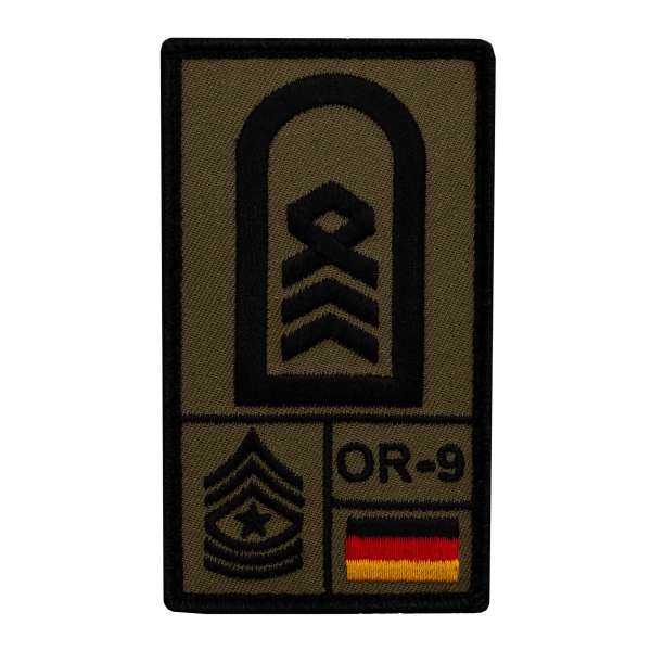 Oberstabsfeldwebel Rank Patch