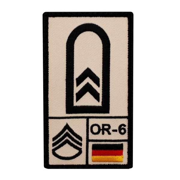 Oberfeldwebel Rank Patch