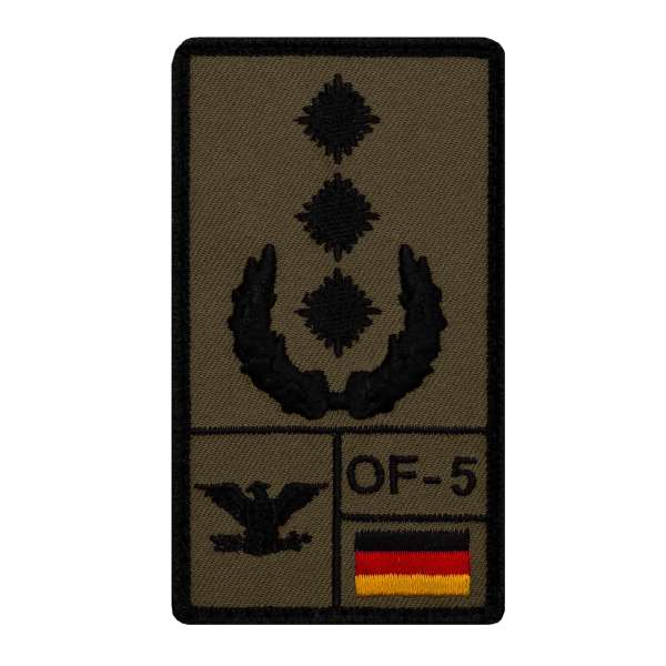 Oberst Rank Patch