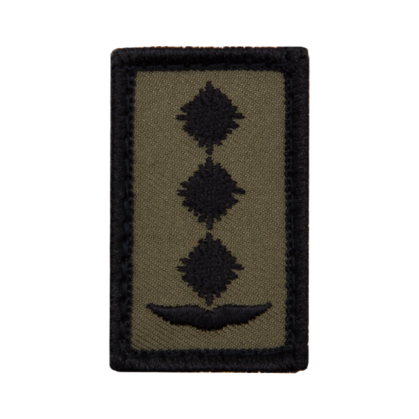 Hauptmann Luftwaffe Mini Dienstgradabzeichen Patch