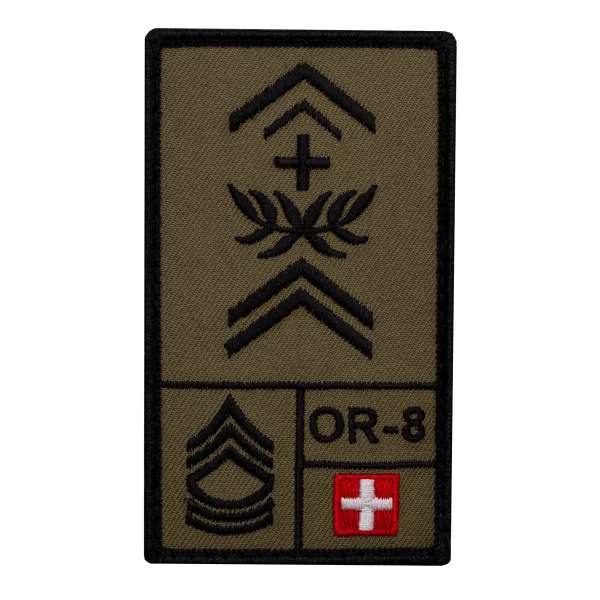 Adjutantunteroffizier Schweiz Rank Patch