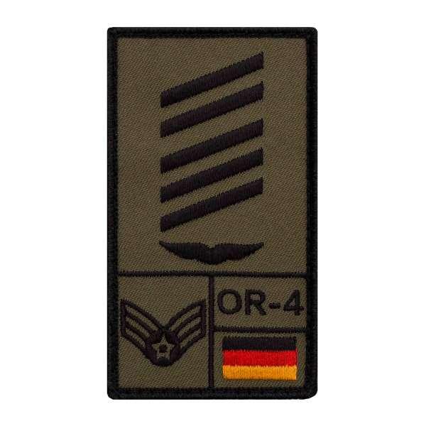 Oberstabsgefreiter Luftwaffe Rank Patch