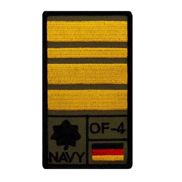 Fregattenkapitän Rank Patch